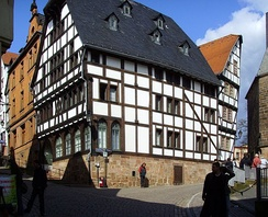 A timber-framed house in Marburg (Germany)