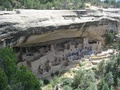 The Cliff Palace in Mesa Verde National Park in Colorado