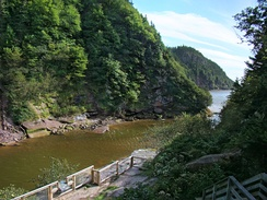 Point Wolfe at Fundy National Park.