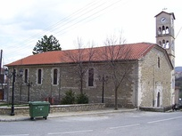 A church in the village