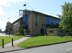 Headquarters of Next Retailing in July 2007 at Enderby, next to the M69; the largest company by turnover in the Midlands