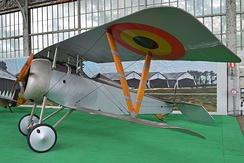 Nieuport 23 survivor in Belgian museum