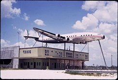 An abandoned Constellation display in Florida (1970s)