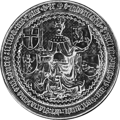 Royal seal of Sigismund Kęstutaitis