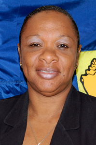 Sharlene Cartwright-Robinson, current and first female Premier of Turks and Caicos