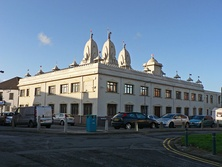 Shri Swaminarayan Mandir in Riverside was the first Hindu temple in Wales. It is also the largest in Wales.