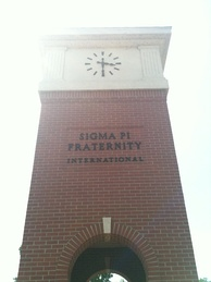 Sigma Pi Centennial Clock Tower at Alpha chapter (Vincennes University)