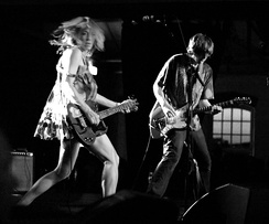 Sonic Youth perform in Sweden in 2005.