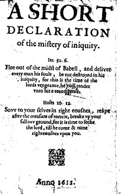 A Short Declaration of the Mistery of Iniquity (1612) by Thomas Helwys. For Helwys, religious liberty was a right for everyone, even for those he disagreed with.