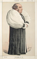 William Thomson, Archbishop of York by Carlo Pellegrini in the 24 June 1871 issue