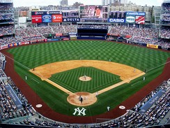 The new Yankee Stadium opened in 2009 and was christened with a World Series victory in the same way that the original Yankee Stadium was christened with a World Series victory when it opened in 1923.