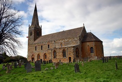 The Romanesque All Saints' Church, Brixworth, late 7th–8th century