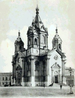 Annunciation church in St. Petersburg (1843–49).