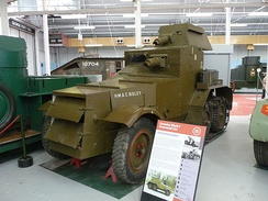 Mk.1 Armoured Car, Bovington Tank Museum