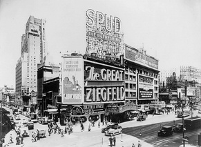 The Great Ziegfeld at the Astor Theatre on Broadway in 1936
