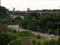 Initially acting as a barrier towards development, the Toronto ravine system has since been adopted as a central piece of Toronto's landscape.