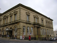 Burnley Mechanics Theatre, originally a Mechanics' Institute