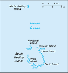 Cocos (Keeling) Islands.