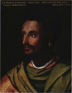 Dawit II of Ethiopia (Lebna Dengel), Emperor of Ethiopia (nəgusä Nagast) and member of the Solomonic dynasty