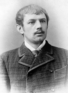 Dietrich Eckart as a young man.