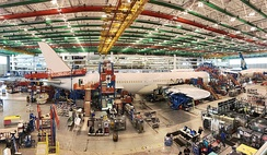 Final assembly of the second 787-10