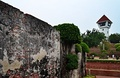 Wall of Fort Zeelandia/Fort Anping, Tainan (Taiwan).