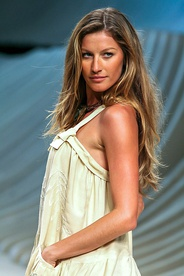 Gisele Bündchen of Brazil, the highest-paid model in the world[185][186]