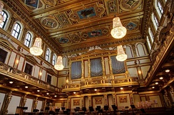 The Great Hall of the Musikverein