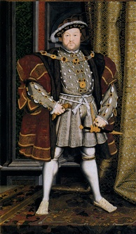 Henry VIII of England: Henry's quarrels with the Pope led to the creation of the Church of England
