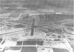 Aerial photo of Homestead Army Airfield – 1943.