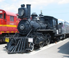 IC 201 preserved at the Illinois Railway Museum.