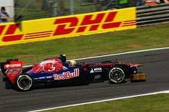 Jaime Alguersuari finished seventh, his best result in F1, with the team at the 2011 Italian Grand Prix.
