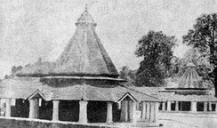 The birthplace of Adi Shankara at Kalady