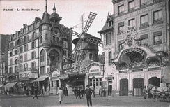 The Moulin Rouge in 1900