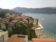 View of Neum, Bosnia and Herzegovina