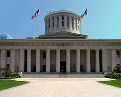 Ohio Statehouse, in Franklin County
