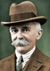 Pierre de Coubertin, father of the modern Olympic Games