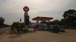 Petrol station in São Domingos