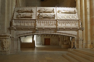 Royal sepulchres at Poblet Monstery
