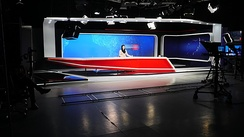 Studio of TOLOnews in Kabul