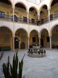 The House of Karamanly, or al-Qaramanli House, was built in 1750, during the reign of Ali Pasha Al-Qaramanli, and was used by Yousuf Pasha until his death.[28]
