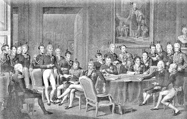 The delegates of the Congress of Vienna