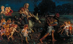 Triumph of the Innocents by William Holman Hunt