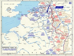 The front line in the Low Countries after Operation Market Garden