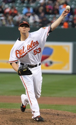 Britton with the Orioles in 2011
