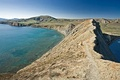 "View of ""Tykhaya Bay"" near Koktebel on Crimea's Black Sea coast"
