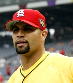 Albert Pujols (2006, 2010 NL Gold Glove winner)