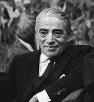 Aristotle Onassis, who had an affair with Callas before he married Jackie Kennedy
