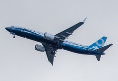 737 MAX 9 first flight on April 13, 2017