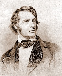 1860 steel-engraved portrait of Sumner